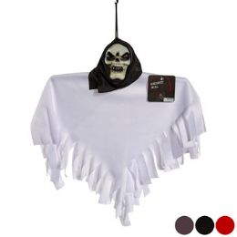 48 Units of Shrouded Skull Hanging Decor - Hanging Decorations & Cut Out