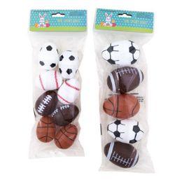 36 Units of Easter Egg Sport 5pk Lg/8ct Med - Easter