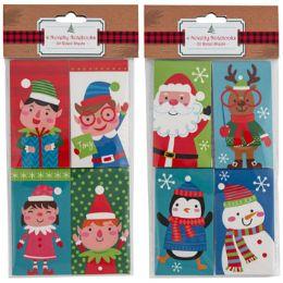 48 Units of Notebook Mini Christmas 4ct - Notebooks