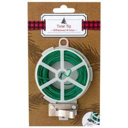 48 Units of Twist Tie 100ft W/dispenser & - Lawn & Garden