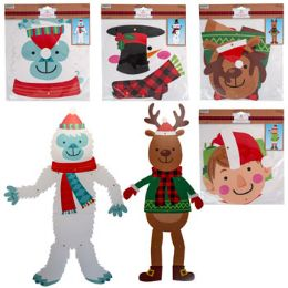 36 Units of Cutout Jointed 32in Christmas - Christmas