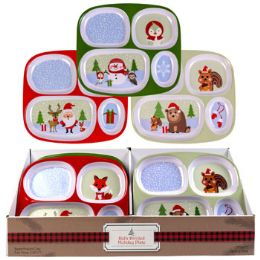 48 Units of Dinnerware Kids Christmas Tray - Kitchen & Dining