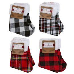 48 Units of Stocking Mini 2pk/7in Christmas - Christmas