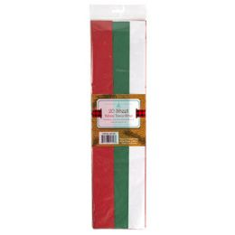 48 Units of Tissue Paper 20ct Trifold - Party Paper Goods