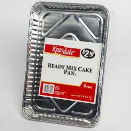 12 Units of Aluminum Ready Mix Cake Pan - Aluminum Pans
