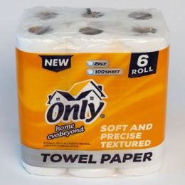 4 Units of Paper Towels 6 Pack - Kitchen Tools & Gadgets