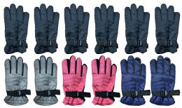 72 Units of Yacht & Smith Kids Thermal Sport Winter Warm Ski Gloves - Kids Winter Gloves