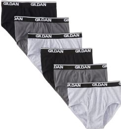 504 Units of Gildan Mens Imperfect Briefs, Assorted Colors And Sizes Bulk Buy - Mens Clothes for The Homeless and Charity