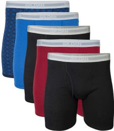 216 Units of Mens Imperfect Wholesale Gildan Boxer Briefs, Assorted Sizes And Colors - Mens Underwear