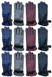 144 Units of Yacht & Smith Women's Winter Warm Waterproof Ski Gloves, One Size Fits All Bulk Pack - Ski Gloves