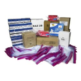 500 Units of Men's Toiletry Kit for Kit Packing Event, 11 Piece Pack - First Aid and Hygiene Gear