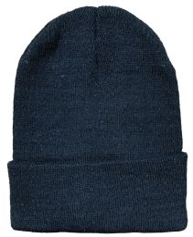 1200 Units of Yacht & Smith Black Unisex Winter Warm Beanie Hats, Cold Resistant Winter Hat - Winter Beanie Hats