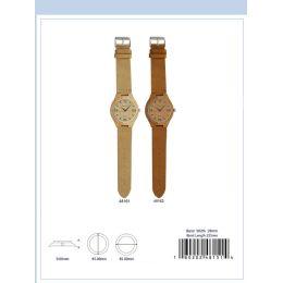 12 Units of 45MM Wooden Watch - 48161-ASST - Men's Watches