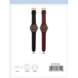 12 Units of 45MM Wooden Watch - 48152-ASST - Men's Watches