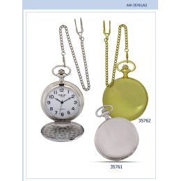 12 Units of 46MM Milano Expressions Plain Pocket Watch - 35762-ASST - Men's Watches