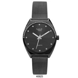 12 Units of M Milano Expressions Black Mesh Band Watch - 46925-ASST - Women's Watches