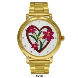 12 Units of M Milano Expressions Gold Metal Band Watch - 45082-ASST - Women's Watches