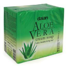 24 Units of DALAN BAR SOAP 3.17 OUNCE 3 PACK ALOE VERA - Soap & Body Wash