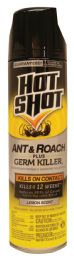 12 Units of Hot Shot Ant And Roach Spray 17.5 Oz Lemon Scented Must Be Broken - Pest Control