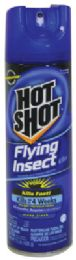 12 Units of Hot Shot Flying Insect Killer 15 Oz Clean Fresh Scent - Pest Control