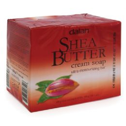 24 Units of Dalan Shea Butter Cream Soap Bar - Soap & Body Wash