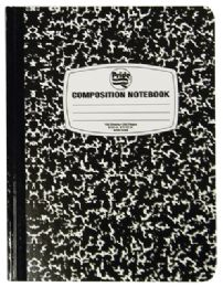 48 Units of COMPOSITION NOTEBOOK 100 SHEET 9.75 X 7.5 INCH WIDE RULED - Notebooks
