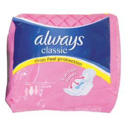 16 Units of Always Classic Pads 9 Count Maxi - Personal Care Items
