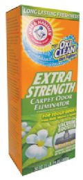6 Units of Arm And Hammer Carpet Odor Eliminator 30 Oz Plus Oxi Clean Extra Strength - Pet Accessories