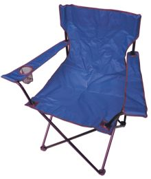 6 Units of CAMPING CHAIR 20 X 20 X 30 INCH DARK BLUE - Camping Gear