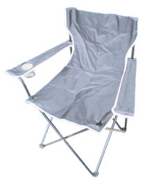 6 Units of CAMPING CHAIR 20 X 20 X 33 INCH GRAY - Camping Gear