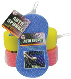 36 Units of Pride Brand Auto Sponges - Auto Cleaning Supplies