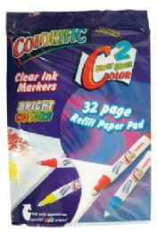 48 Units of COLORIFIC PAPER PAD REFILL 32 PAGES - Coloring & Activity Books