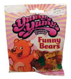 12 Units of YUMY YUMY GUMMY BEARS 4 OZ - Food & Beverage