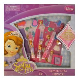 12 Units of Disney's Sofia The First Stamp Activity Set - Art Paints