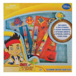 12 Units of Jake And The Neverland Pirates Activity Set - Art Paints