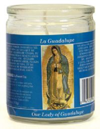 12 Units of RELIGIOUS CANDLE 3.25 INCH OUR LADY OF GUADALUPE - Candles & Accessories