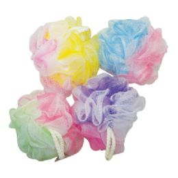 100 Units of Bath Sponges In Display - Loofahs & Scrubbers
