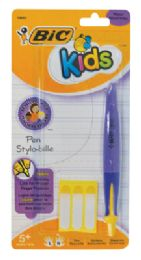 36 Units of BIC KIDS GIRLS PEN INCLUDES 3 NAME LABELS BLACK INK - Pens