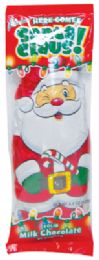 24 Units of Palmer Classic Milk Chocolate Christmas Santa Claus 4.4 Ounce - Christmas Novelties