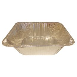 100 Units of Foil Lasagna Pan Half Size 13 X 10.25 X 4 Inch Extra Deep - Baking Supplies