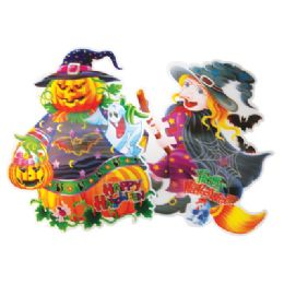 72 Units of HALLOWEEN WALL DECORATION 17 X 15 INCH 3D - Halloween & Thanksgiving