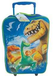 "4 Units of Disney Rolling Luggage 16""""good Dino - Bags Of All Types"