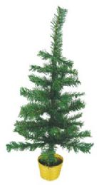 48 Units of Christmas Tree 2 Feet With Base - Christmas Decorations