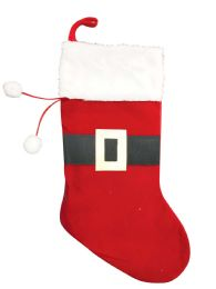 36 Units of PRIDE CHRISTMAS STOCKING 18 INCHES VELVET - Christmas Stocking