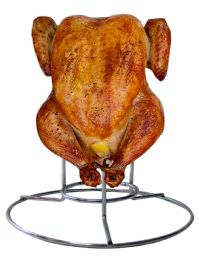 12 Units of Vertical Chicken Roaster Rack Perfect For Beercan Chicken - Kitchen Gadgets & Tools