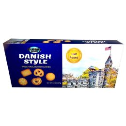 12 Units of Danish Butter Cookies 8 Oz. - Food & Beverage