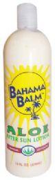 12 Units of Bahama Balm After Sun Lotion 16 Oz Aloe - Skin Care
