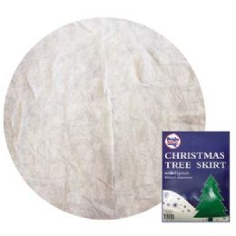 24 Units of Christmas Tree Skirt 48 in - Christmas Decorations