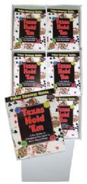 144 Units of Texas Hold'em Poker Guide In Display - Crosswords, Dictionaries, Puzzle books