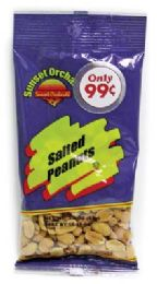 12 Units of SUNSET ORCHARDS SALTED PEANUTS 3 OZ PREPRICED $0.99 - Food & Beverage